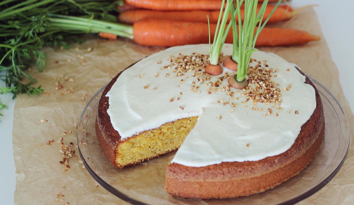 Carrot-Cake mit Karamellcreme