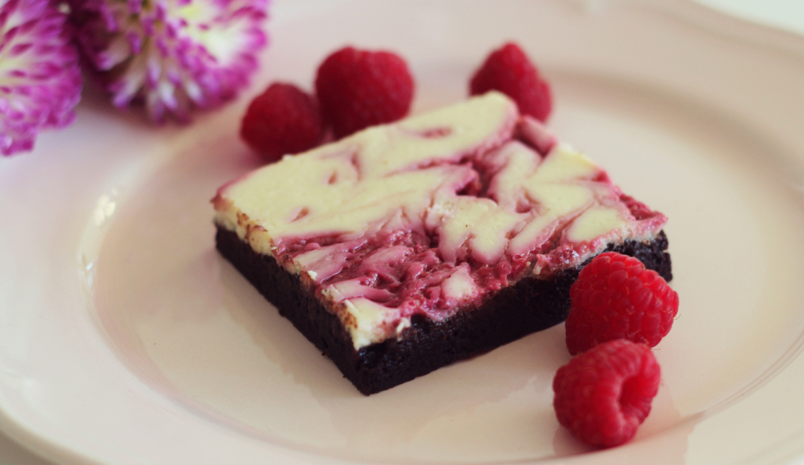 Cheesecake-Himbeer-Brownie
